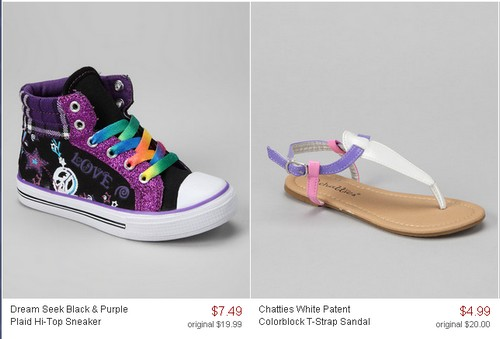 592a949647f Right now Zulily is having a   HUGE   Blowout sale and you can score  children s shoes as low as  4.99 + EARN  20 for referring a friend!