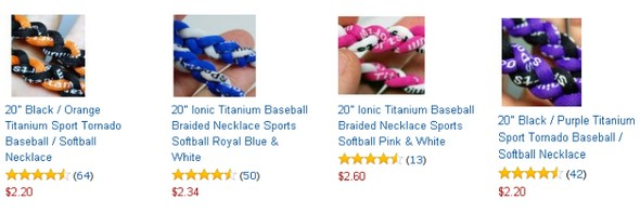 titanium necklaces