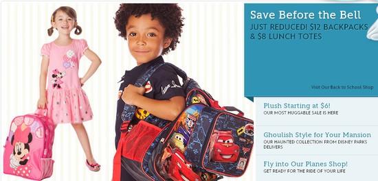 d1ade7c5a9e Disney Store    HUGE SALE    12 Backpacks
