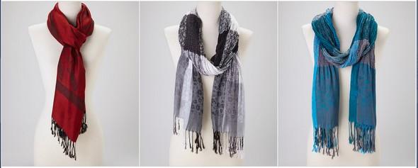 sale on scarves