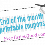 Hurry and print the End of Month Printable Coupons before they disappear!!