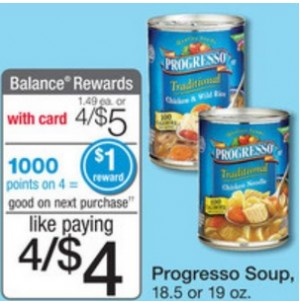 image relating to Printable Progresso Soup Coupons named WALGREENS: Totally free Progresso Soup ~ At present Simply ~ 2/1!! Cost-free
