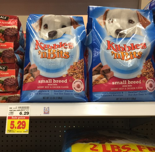 graphic about Kibbles and Bits Printable Coupons known as KROGER: Kibbles N Bits Pet Meals Simply $2.65 (reg. $6.29