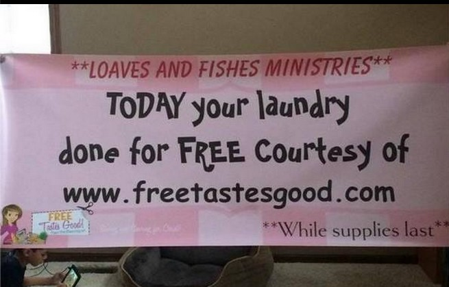 FREE LAUNDRY DAY