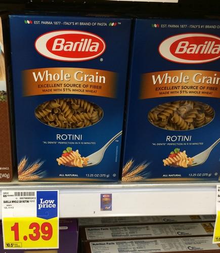 is whole wheat pasta gluten free