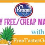 Kroger Mega Event Matchups 11/28 thru 12/11!!