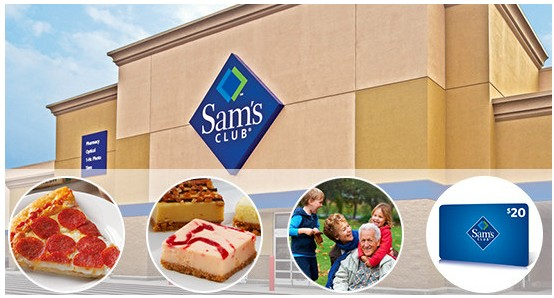 Sams Club Promotion >> Sam S Club Promotion 45 For A One Year Membership 20 Gift Card