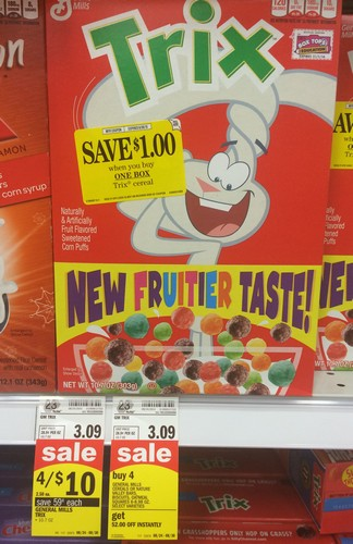 Mejier Trix Cereal Only 0 81 Free Tastes Good