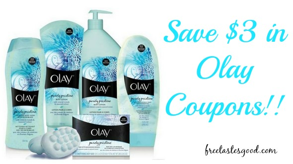 picture regarding Olay Printable Coupons named Snag $3 within just Clean Olay Discount coupons - Rush AND PRINT!! Totally free