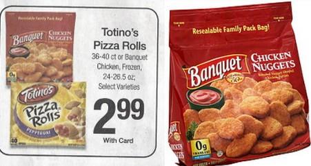 KROGER: Banquet Chicken Nuggets ONLY $2.99!!