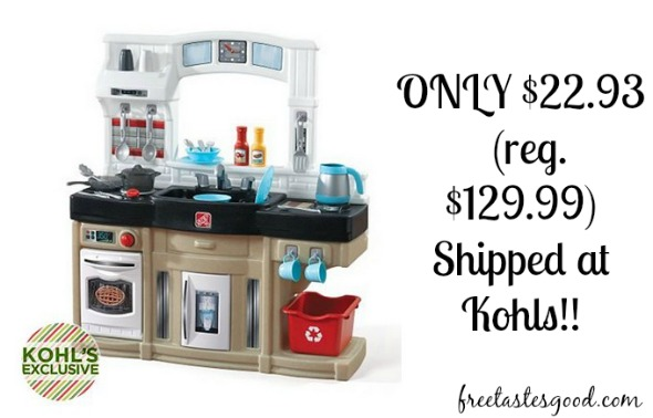 Kohls Step2 Modern Cook Kitchen Only 22 93 Reg 129 99 Free