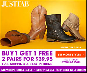 ae139f8c797 JustFab BOGO Sale! - 2 Pairs Of Shoes For  39.95