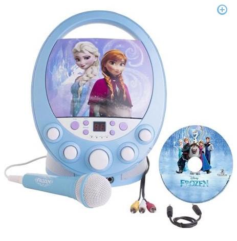 Disney Frozen Flashing Lights Karaoke Machine Only 65 88