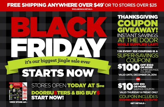 46b80a6480 JCPENNEY BLACK FRIDAY ONLINE IS NOW LIVE