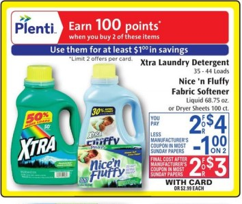 image regarding Xtra Laundry Detergent Printable Coupon identified as Ceremony Assistance: Xtra Laundry Detergent Merely $1!! Free of charge Preferences Optimistic!
