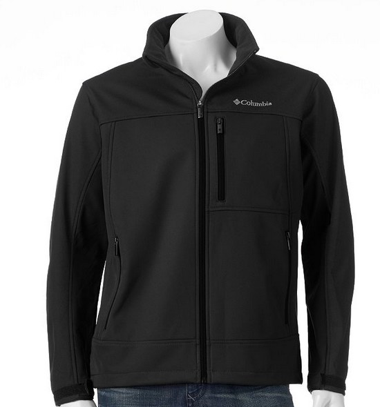 KOHLS: Columbia Smooth Spiral Colorblock SoftShell Jacket