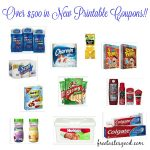 First of month printable coupons – Hurry and snag them while you can:)