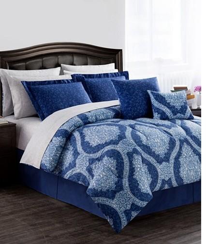 macys windsor reversible 12 pc comforter sets only reg 160 free tastes good. Black Bedroom Furniture Sets. Home Design Ideas