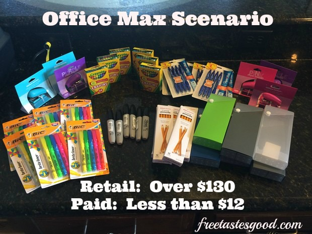 Office Maxoffice Depot Back To School Shopping Scenario Only 12