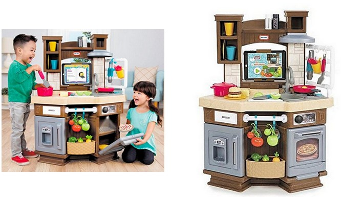 Amazon Little Tikes Cook N Learn Smart Kitchen Only 89 99