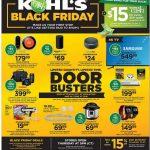 Kohl's Black Friday Ad 2018 + $15 Kohls Cash!!