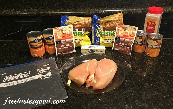 freezer-to-crockpot-chicken-and-noodles-ingredients