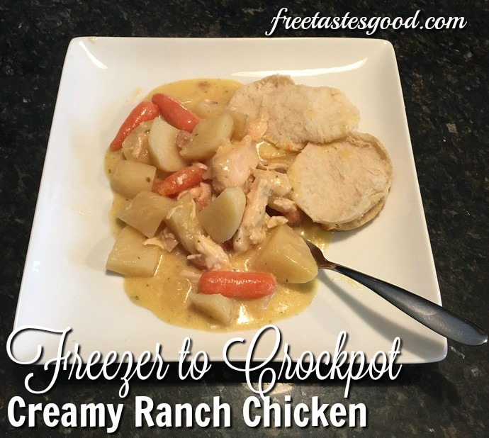 freezer-to-crockpot-creamy-ranch-chicken-cooked