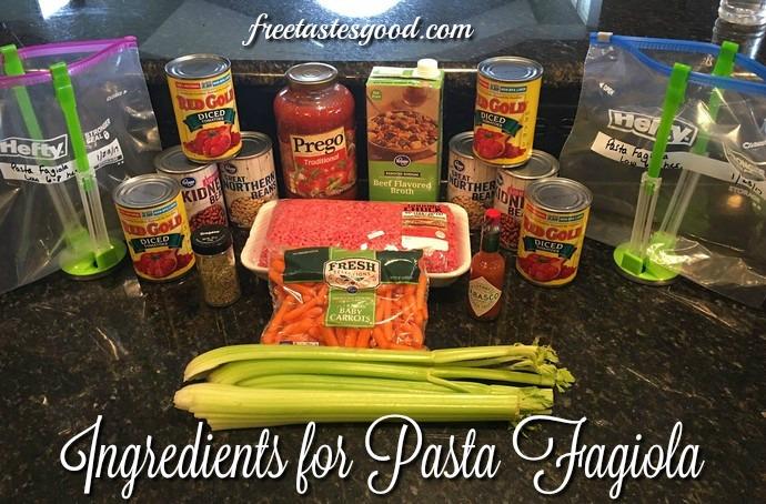 freezer-to-crockpot-pasta-fagiola-ingredients