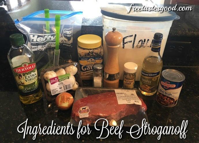 beef-stroganoff-slow-cooker-ingredients