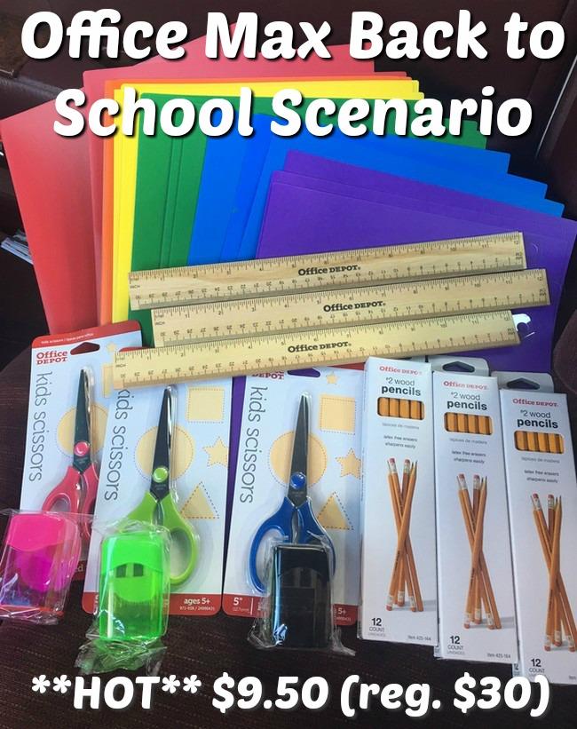 Office Max Back To School Shopping Scenario Free Tastes Good