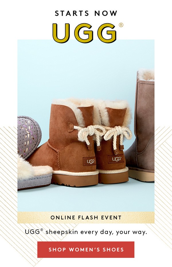 ugg offerta black friday