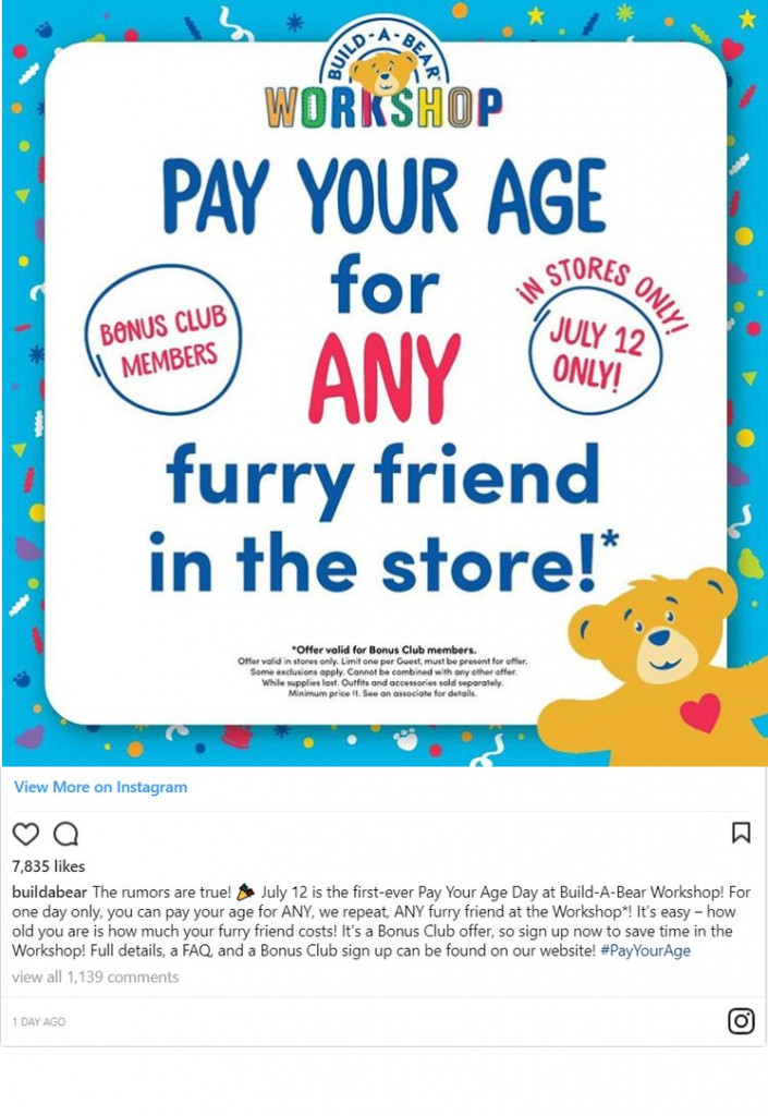 build-a-bear-pay-your-age-deal