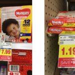 KROGER: Huggies Diapers ONLY $3.53 (reg. $7.99!!)