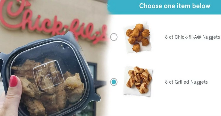 picture regarding Chickfila Printable Coupon called Free of charge 8 ct. Nuggets at Chick-fil-A No cost Preferences Beneficial!