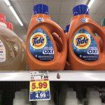 KROGER MEGA EVENT:  Tide Laundry Detergent ONLY $2.99 (reg. $7.99!!)