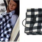 AMAZON:  Heated Travel Car Blanket ONLY $24.99 SHIPPED!!