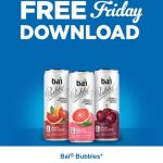 KROGER FREEBIES Friday Download:  FREE Bai Bubbles (11.5 fl oz.)!!
