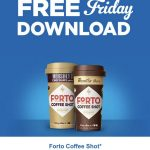 KROGER FREEBIES Friday Download:  Forto Coffee Shot (2 fl oz)!!