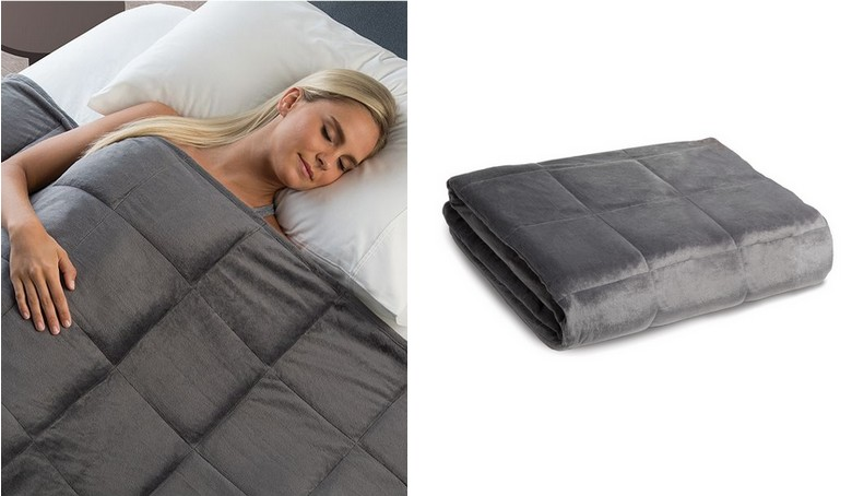 macys calming comfort weighted blanket collection only reg 200 free tastes good. Black Bedroom Furniture Sets. Home Design Ideas