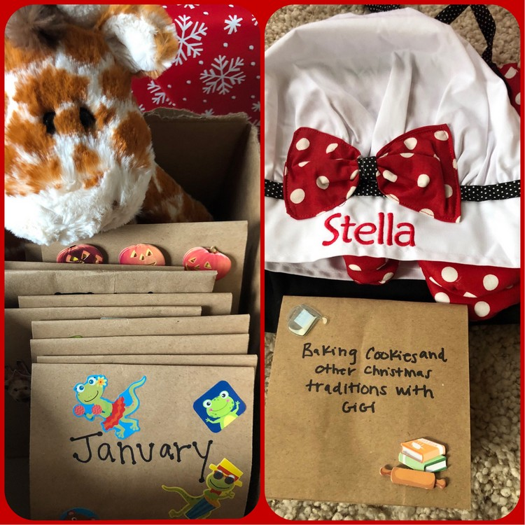 Grandma S Christmas Adventure Box Idea The Gift That Keeps Giving Month After Month Free Tastes Good
