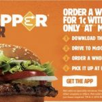 Burger King offers one-cent Whoppers!!