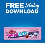 KROGER FREEBIES Friday Download:  FREE SweeTARTS Chewy Cherry Punch Rope Singles Candy (1.8 oz)