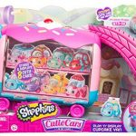 Shopkins Cutie Cars Play 'n' Display Cupcake Van with Exclusive Cutie Car Mini ONLY $8.71 (reg. $19.99!)