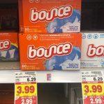 KROGER MEGA EVENT:  Bounce Dryer Sheets ONLY $0.99 (reg. $6.29!!)