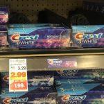 KROGER MEGA EVENT:  FREE Crest Toothpaste (reg. $3.29!!)