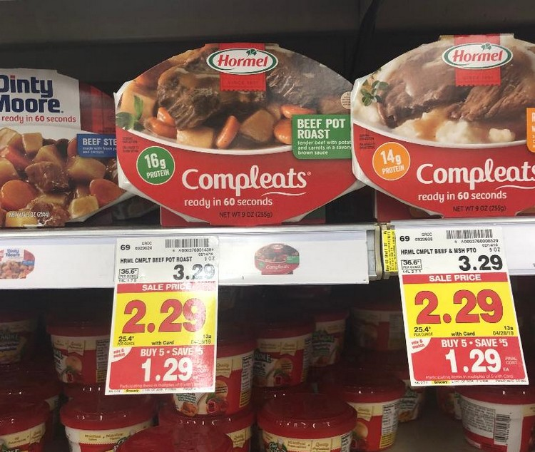 hormel compleats coupons 2019