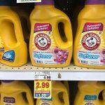 KROGER:  Arm & Hammer Laundry Detergent ONLY $1.99 (reg. $4.99!)