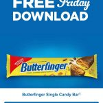 KROGER FRIDAY FREEBIE:  FREE Butterfinger Single Candy Bar (1.9 oz.)