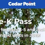 FREE Kids Cedar Point Pass – Ages 3-5!!