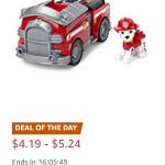 Paw Patrol Toys up to 50% off!!